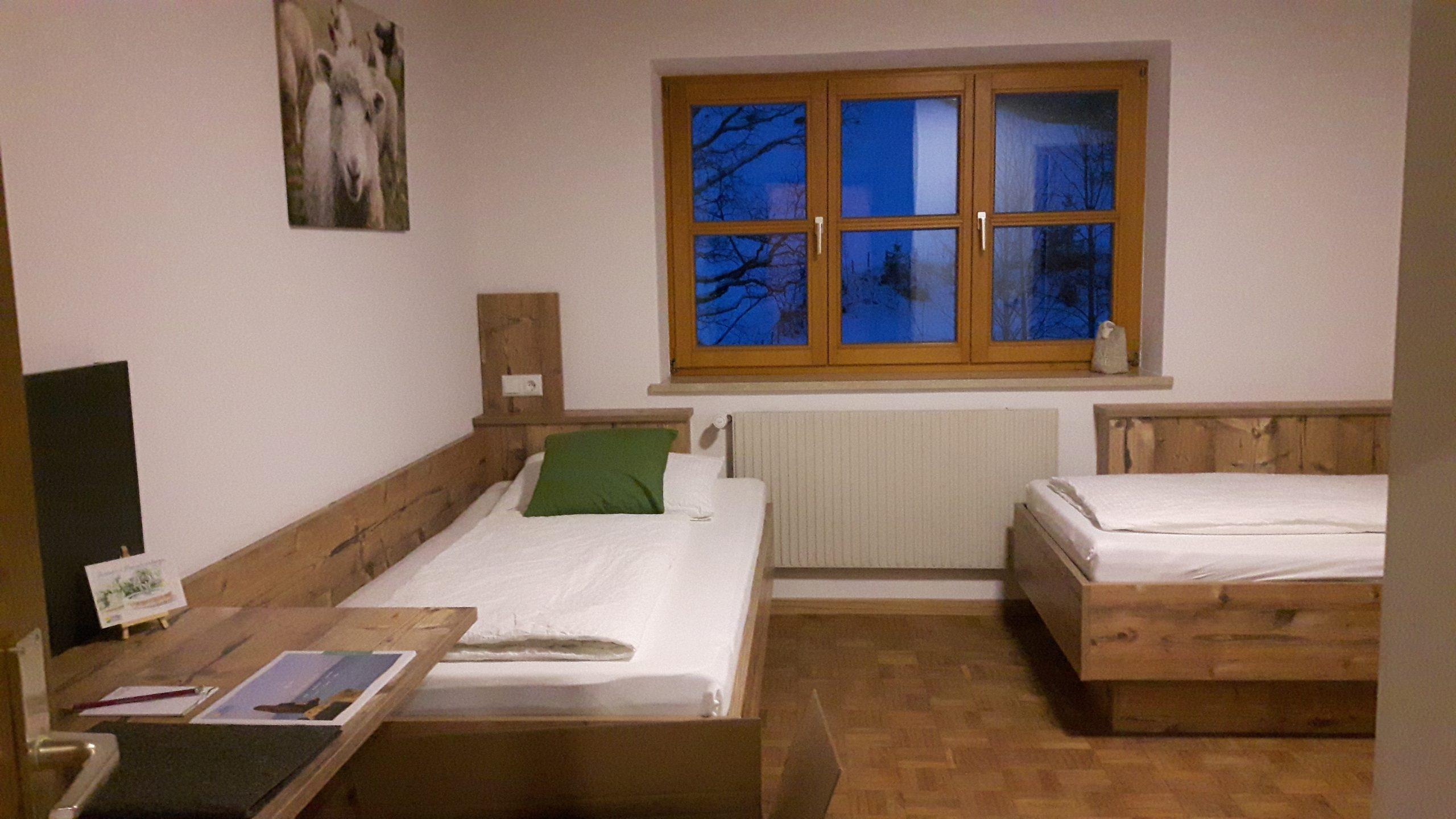 Neu renoviertes Doppelzimmer