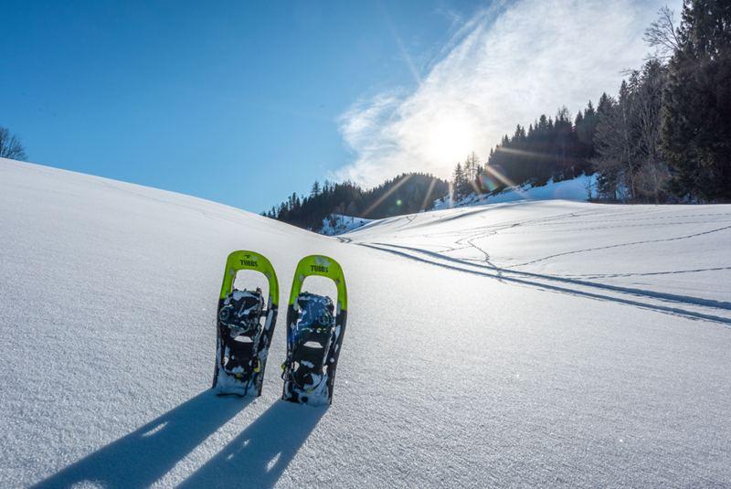 Schneeschuhwandern Chiemgau